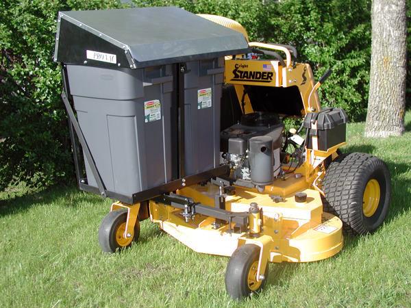 Stand On Lawn Mower Catchers Custom Built Leaf Vac