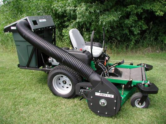 Leaf Vac For Zero Turn Mowers Pv 232 Protero Inc