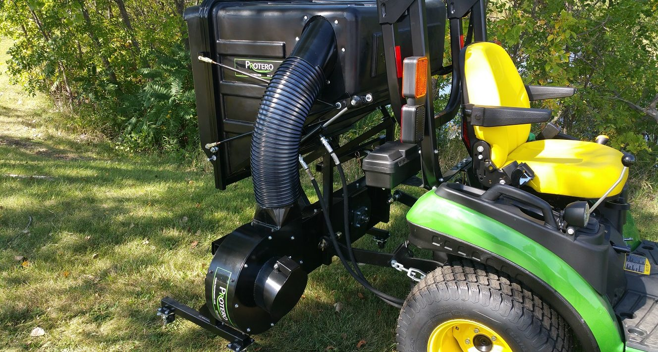 Stand Behind Lawn Mower >> Leaf Vacuums | Lawn Vacuums | Custom Built Yard Vacs | Protero Inc
