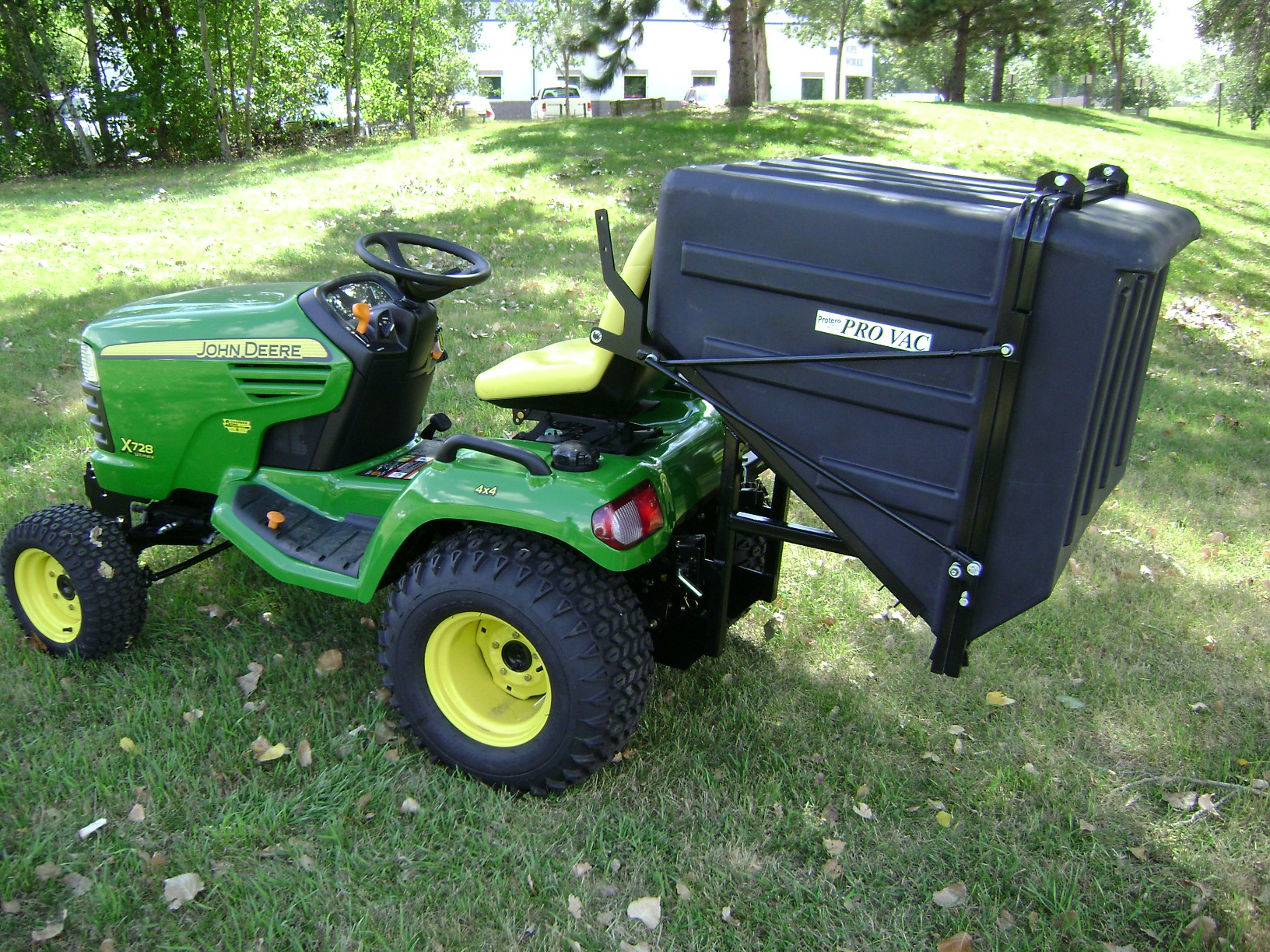John Deere Lawn Vacuum Systems