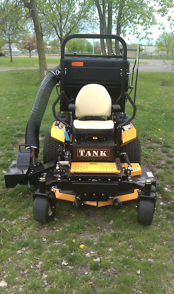 Lawn Bagger For Zero Turn Mowers Pv 18 Protero Inc