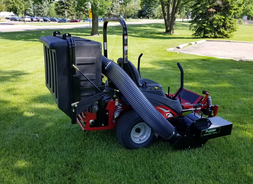Lawn Vac Catcher Dump From Seat Pv13 Protero Inc